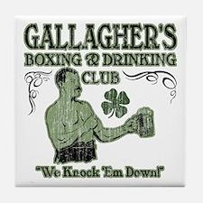 Gallagher's Club Tile Coaster