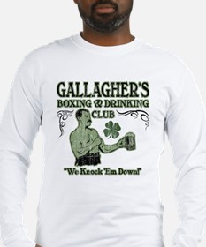 Gallagher's Club Long Sleeve T-Shirt