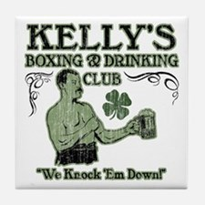 Kelly's Club Tile Coaster