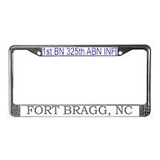 1st Bn 325th ABN Inf License Plate Frame