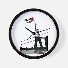 Intifada Wall Clock