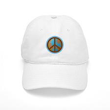 Peace Sign Earth Day Baseball Cap