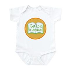 Get Lost In Literature Infant Bodysuit