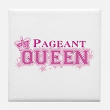 Pageant Queen Tile Coaster