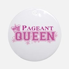 Pageant Queen Ornament (Round)
