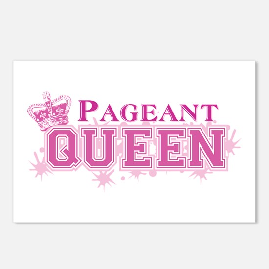 Pageant Queen Postcards (Package of 8)