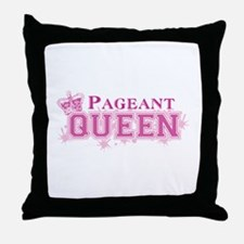 Pageant Queen Throw Pillow