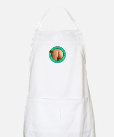 Butt Necked Official Logo BBQ Apron