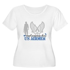 Funny Airforce girlfriend T-Shirt