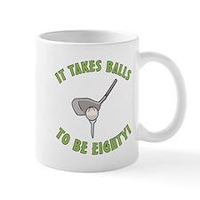 80th Birthday Golfing Gag Mug