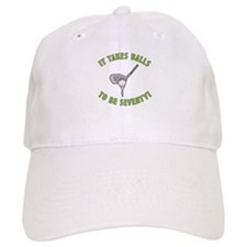 70th Birthday Golfing Gag Baseball Cap