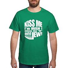 Kiss Me I'm Jewish! T-Shirt