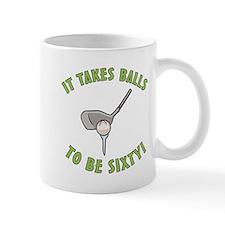 60th Birthday Golfing Gag Mug
