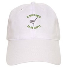 60th Birthday Golfing Gag Baseball Cap