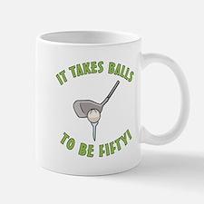 50th Birthday Golfing Gag Mug