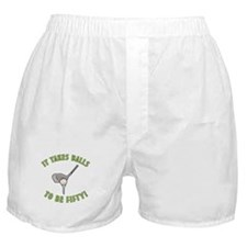 50th Birthday Golfing Gag Boxer Shorts
