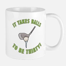 30th Birthday Golfing Gag Mug