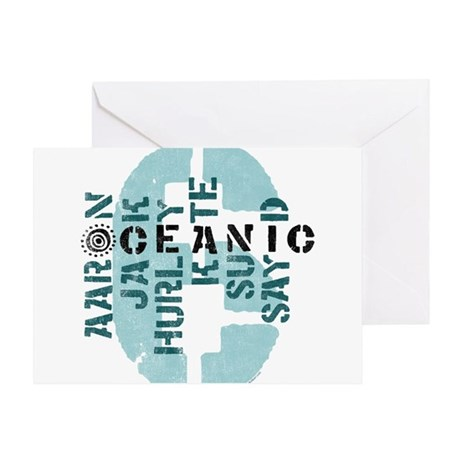 Oceanic 6 Greeting Card