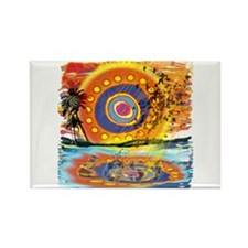Lost Floats Rectangle Magnet