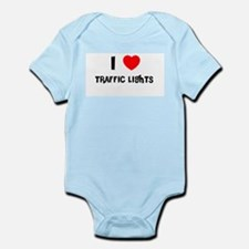 I LOVE TRAFFIC LIGHTS Infant Creeper