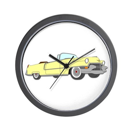Classic Cadillac Wall Clock
