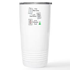 Who Did It? Travel Mug