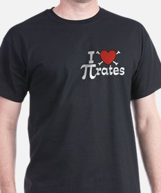 I Love Pi rates T-Shirt