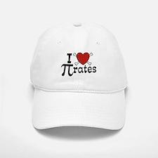 I Love Pi rates Baseball Baseball Cap