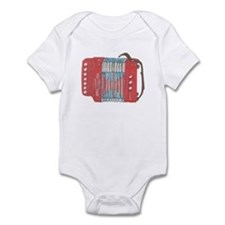 Accordion Infant Bodysuit