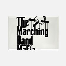 Marching Band Mafia Rectangle Magnet