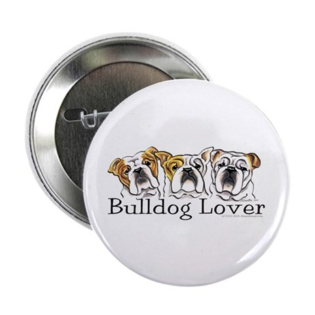 "English Bulldog Lover 2.25"" Button (10 pack)"