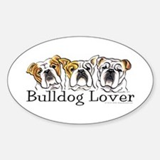 English Bulldog Lover Decal