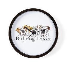 English Bulldog Lover Wall Clock