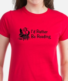 I'd Rather Be Reading Tee