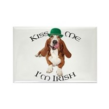Basset Irish Kiss Magnets