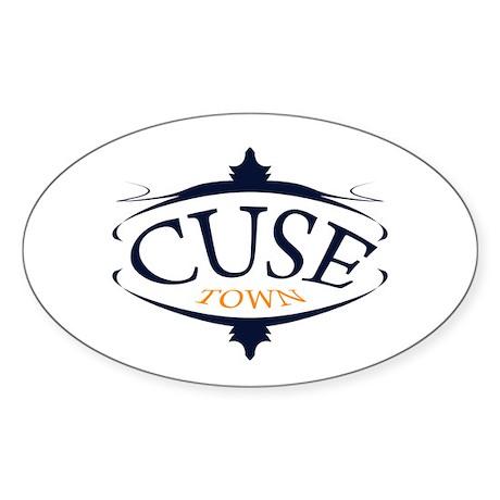 cuse town Sticker