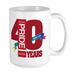 40th Anniversary Large Mug