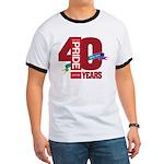 40th Anniversary Ringer T