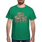 Shamrock Skulls Dark T-Shirt