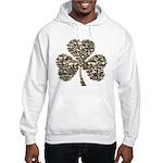 Shamrock Skulls Hooded Sweatshirt