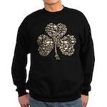 Shamrock Skulls Sweatshirt (dark)