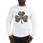 Shamrock Skulls Long Sleeve T-Shirt