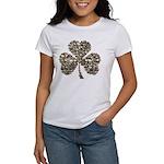 Shamrock Skulls Women's T-Shirt