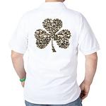 Shamrock Skulls Golf Shirt