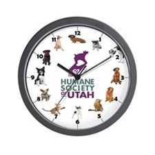 Cool Hsus Wall Clock