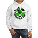Rock Out With Your Shamrock Out Hooded Sweatshirt
