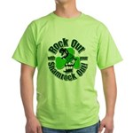 Rock Out With Your Shamrock Out Green T-Shirt