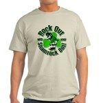 Rock Out With Your Shamrock Out Light T-Shirt