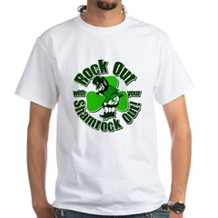 Rock Out With Your Shamrock Out Shirt