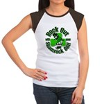 Rock Out With Your Shamrock Out Women's Cap Sleeve